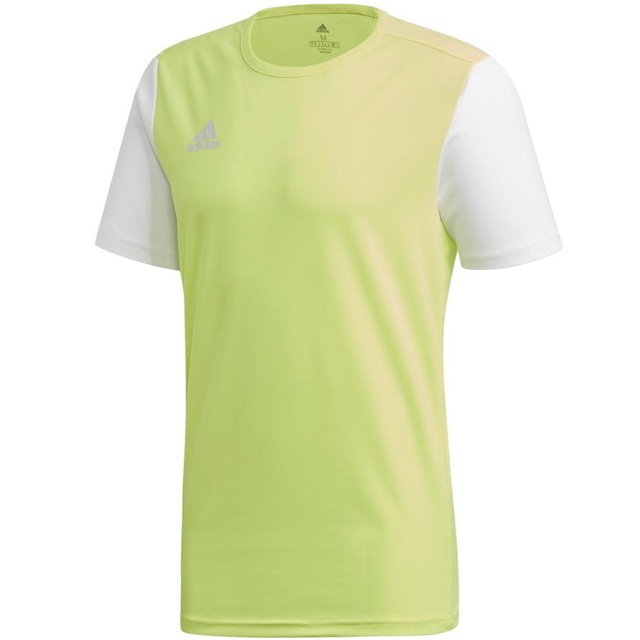 Koszulka dla dzieci adidas Estro 19 Jersey JUNIOR żółta DP3235DP3229