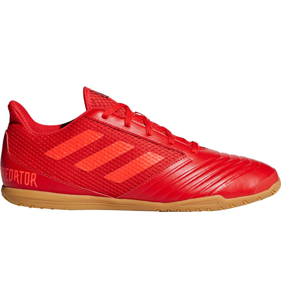 Buty piłkarskie adidas Predator 19.4 IN Sala czerwone D97976