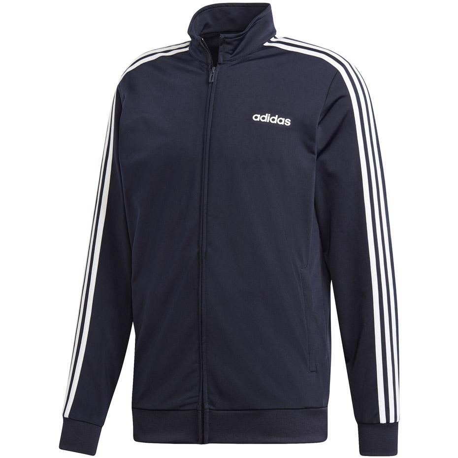 Bluza adidas Essentials 3 Stripes Tricot Track Top granatowa DU0445