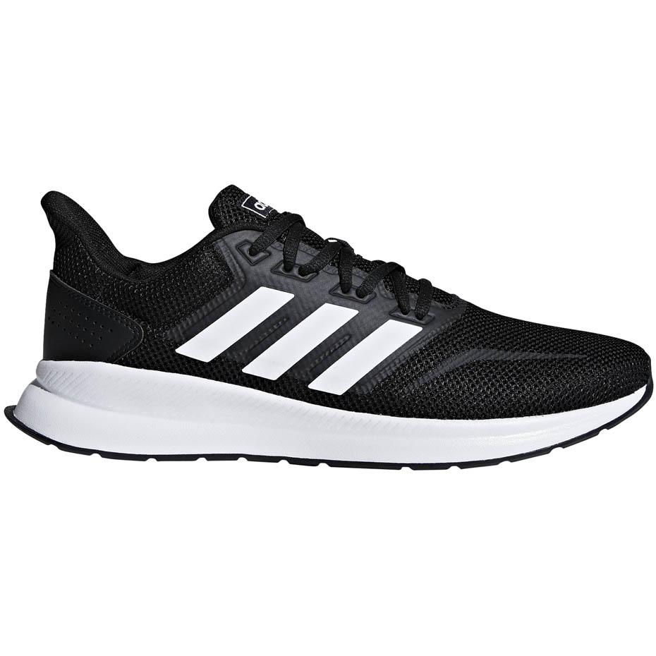 Buty męskie do biegania adidas Runfalcon czarno białe F36199