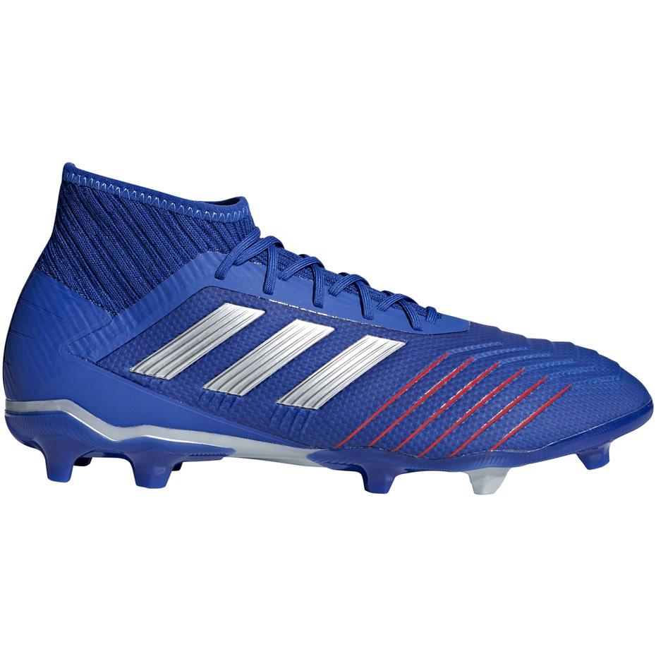 Buty piłkarskie adidas Predator 19.2 FG niebieskie BB8111