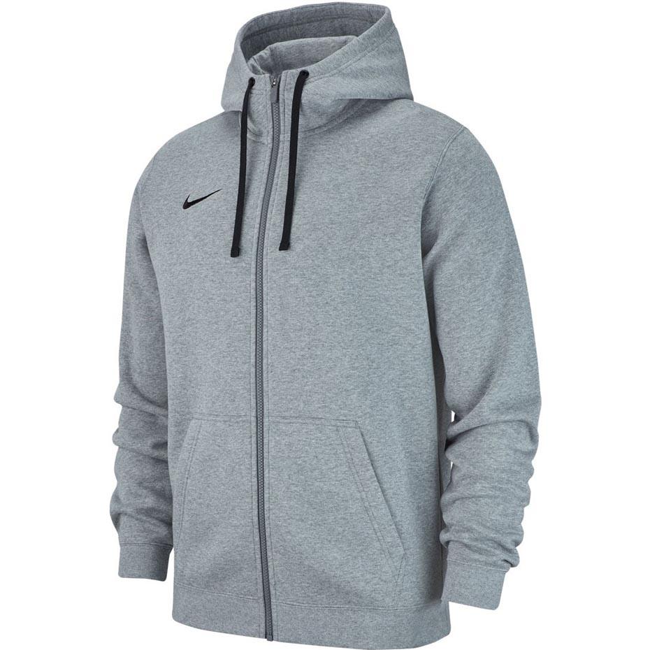 bluza męska team club 19 hoodie nike czerwona