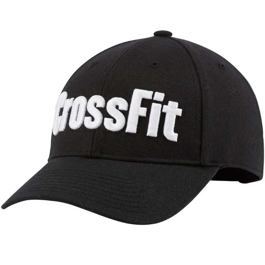 Czapka z daszkiem męska Reebok CrossFit RCF OSFM czarna