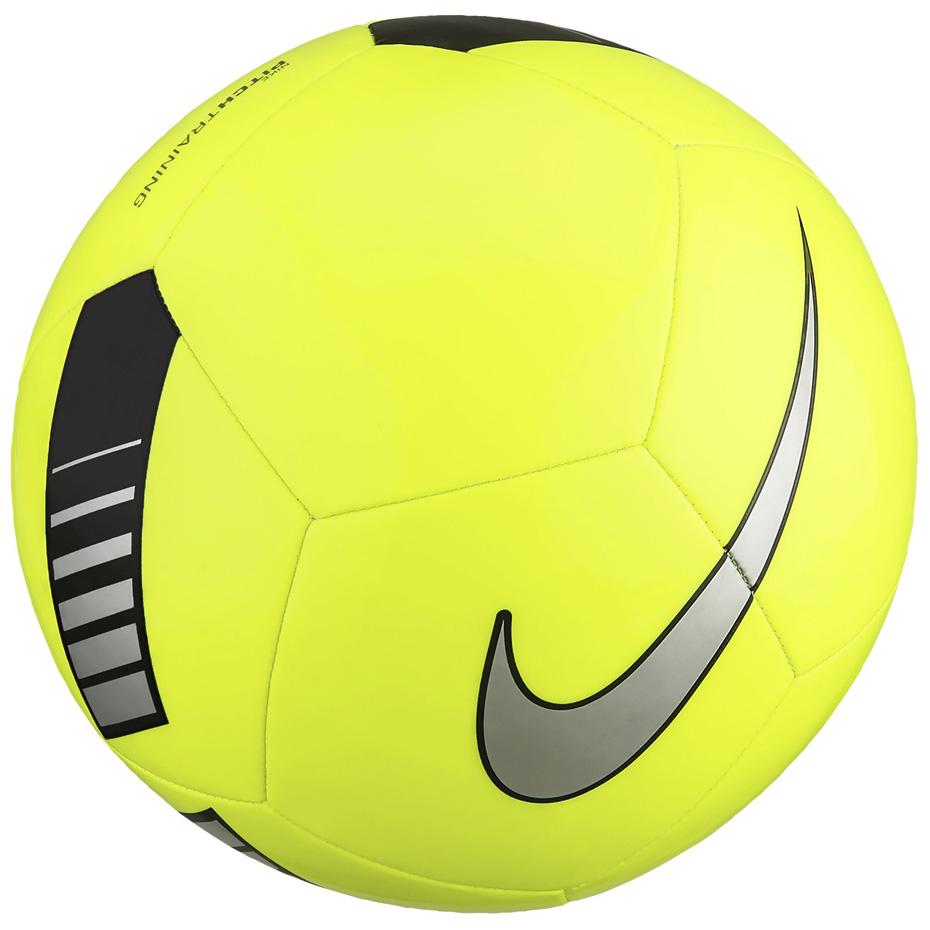 Piłka Nożna Nike Pitch Training niebiesko czarna rozmiar 5