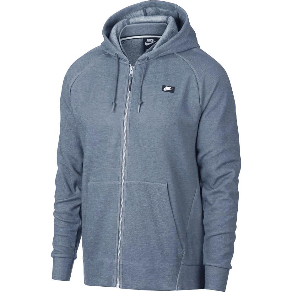 naprawdę wygodne rozmiar 7 nowe obrazy Bluza męska Nike M NSW Optic Hoodie FZ szara 928475 427