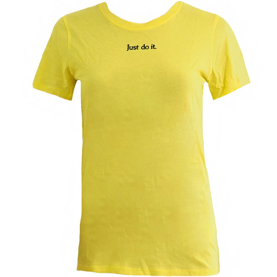 Koszulka damska Nike W Tee Crew Newspaper 923369 740