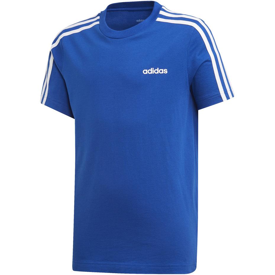 Koszulka dla dzieci adidas YB E 3S Tee niebieska EI7984