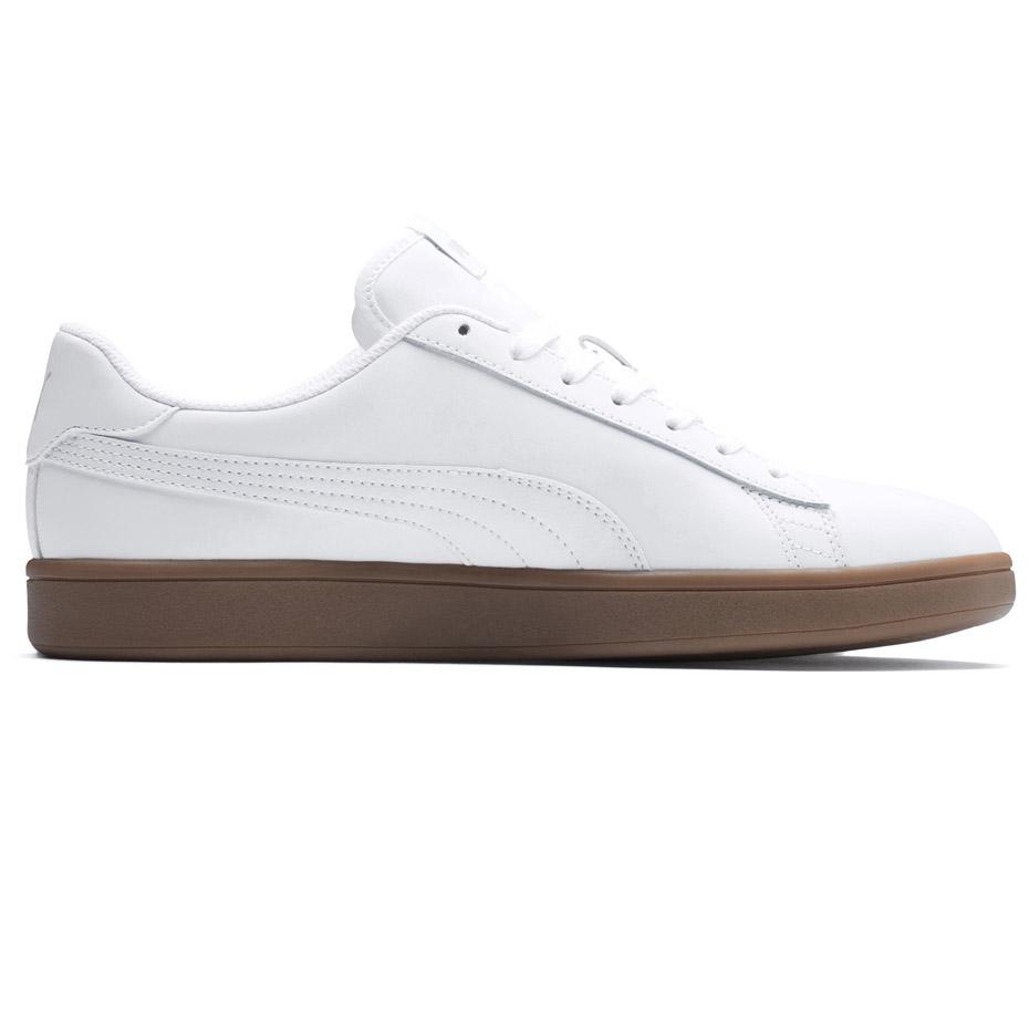 Buty męskie Puma Smash v2 L białe 365215 13