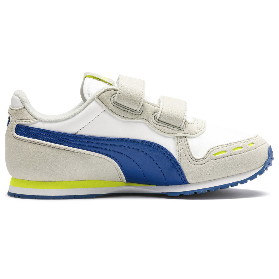 Buty dla dzieci Puma Cabana Racer SL V PS beżowo niebieskie