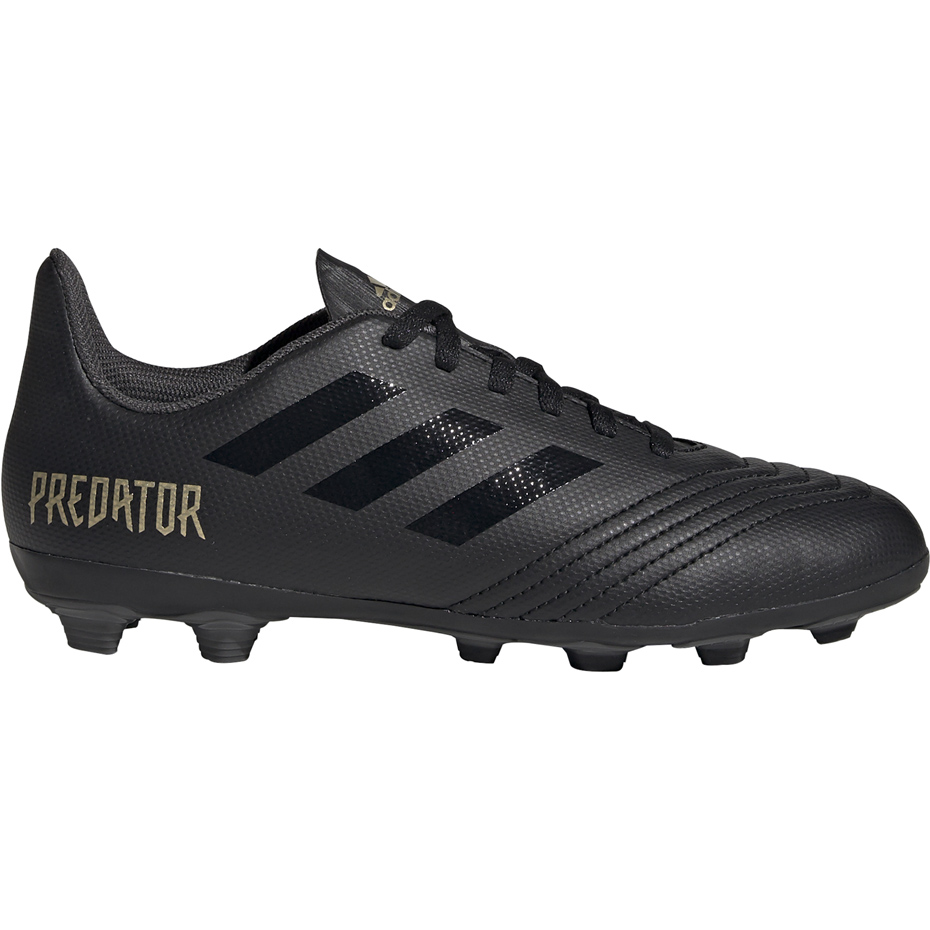 Buty piłkarskie adidas Predator 19.4 FxG JUNIOR czarne EF8989