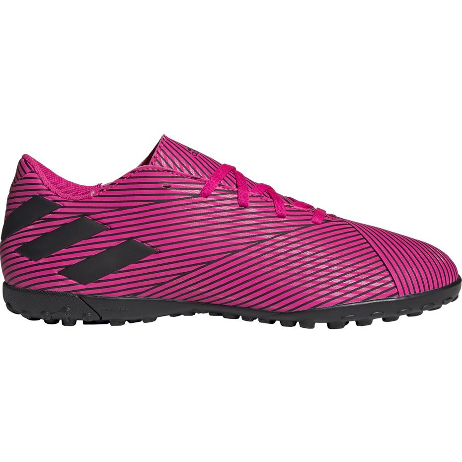 Darmowa dostawa Darmowa dostawa przejść do trybu online Buty piłkarskie adidas Nemeziz 19.4 TF różowe F34523