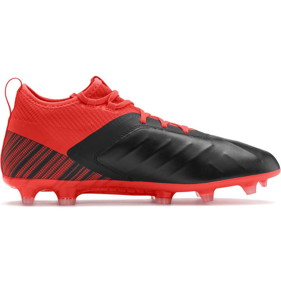 Buty piłkarskie Puma One 5.2 FG AG czerwono czarne 105618 01