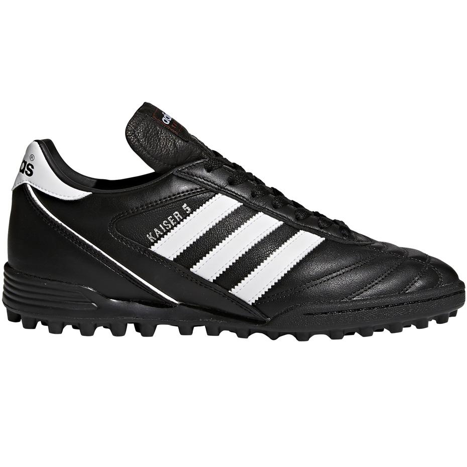 Czarne buty piłkarskie Adidas Kaiser 5 Team 677357