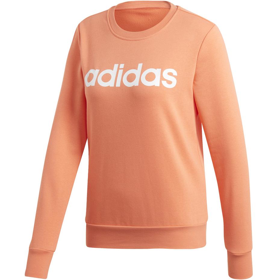 Bluza damska Essentials Linear Sweat Adidas (jasny szary melanż)
