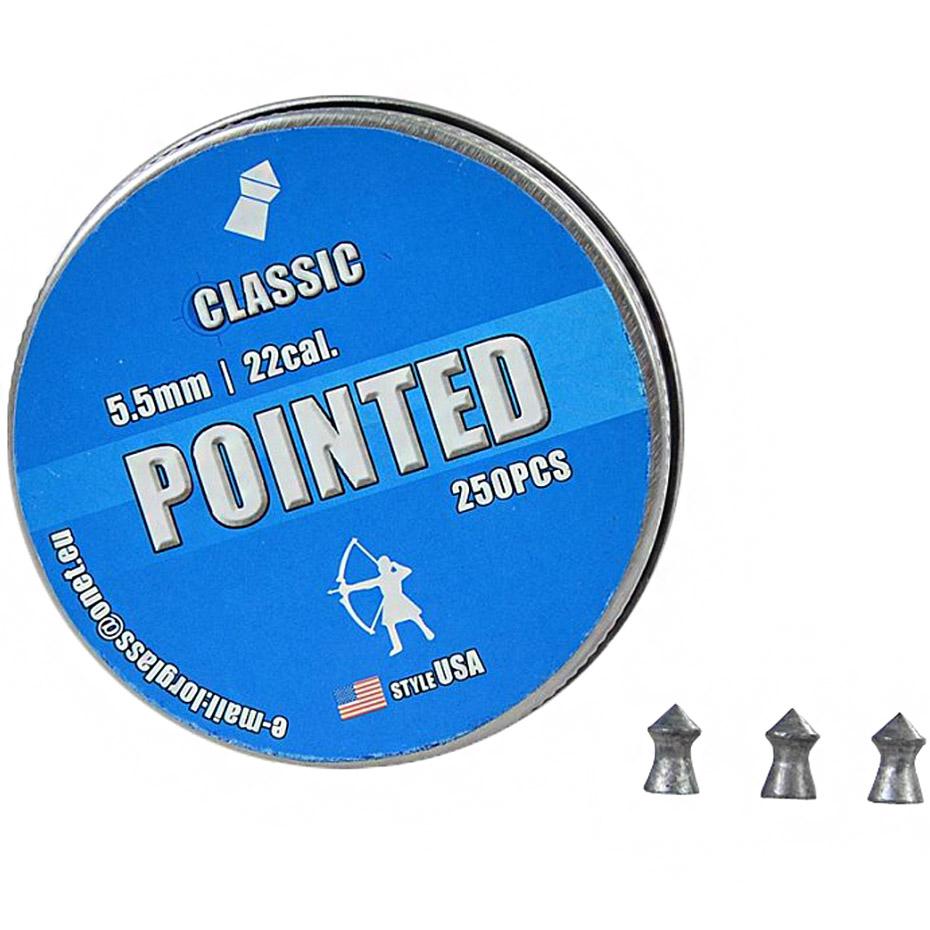 Śrut Classic Szpic 5,5mm 250szt CP55S50