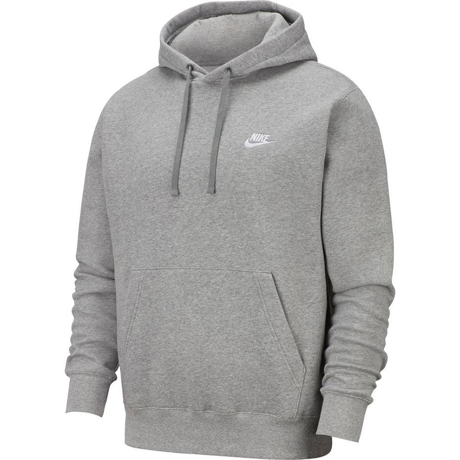 nowe promocje oszczędzać świetne oferty Bluza męska Nike NSW Club Hoodie j.szara BV2654 063