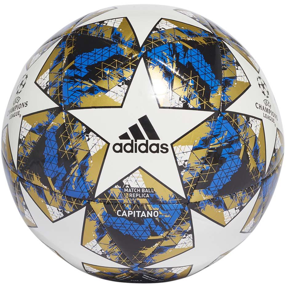 Piłka nożna adidas Finale 19 Capitano czarna DY2554