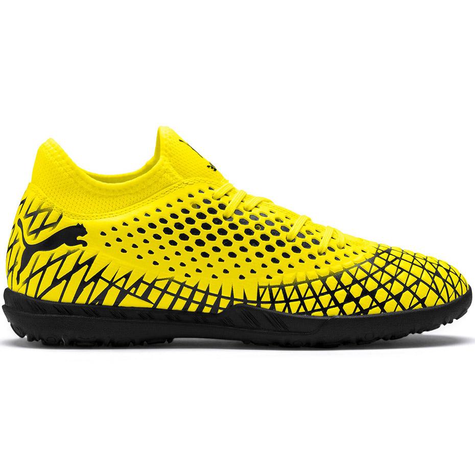 Buty piłkarskie Puma Future 4.4 TT żółto czarne 105690 03
