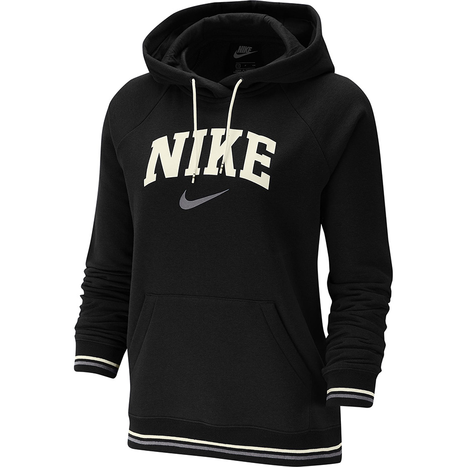 Bluza damska Nike W Hoodie FLC Vrsty szara BV3973 071 Rozmiar XS
