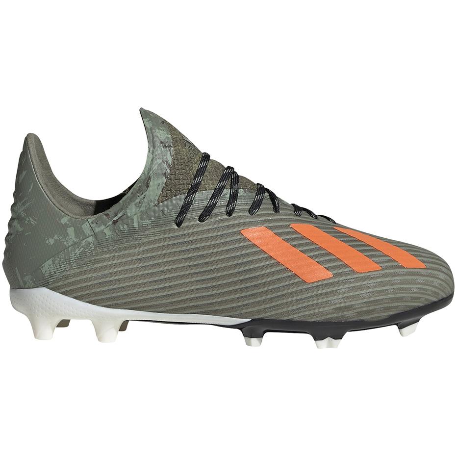 Buty piłkarskie adidas X 19.1 FG JR zielone EF8301 Cena