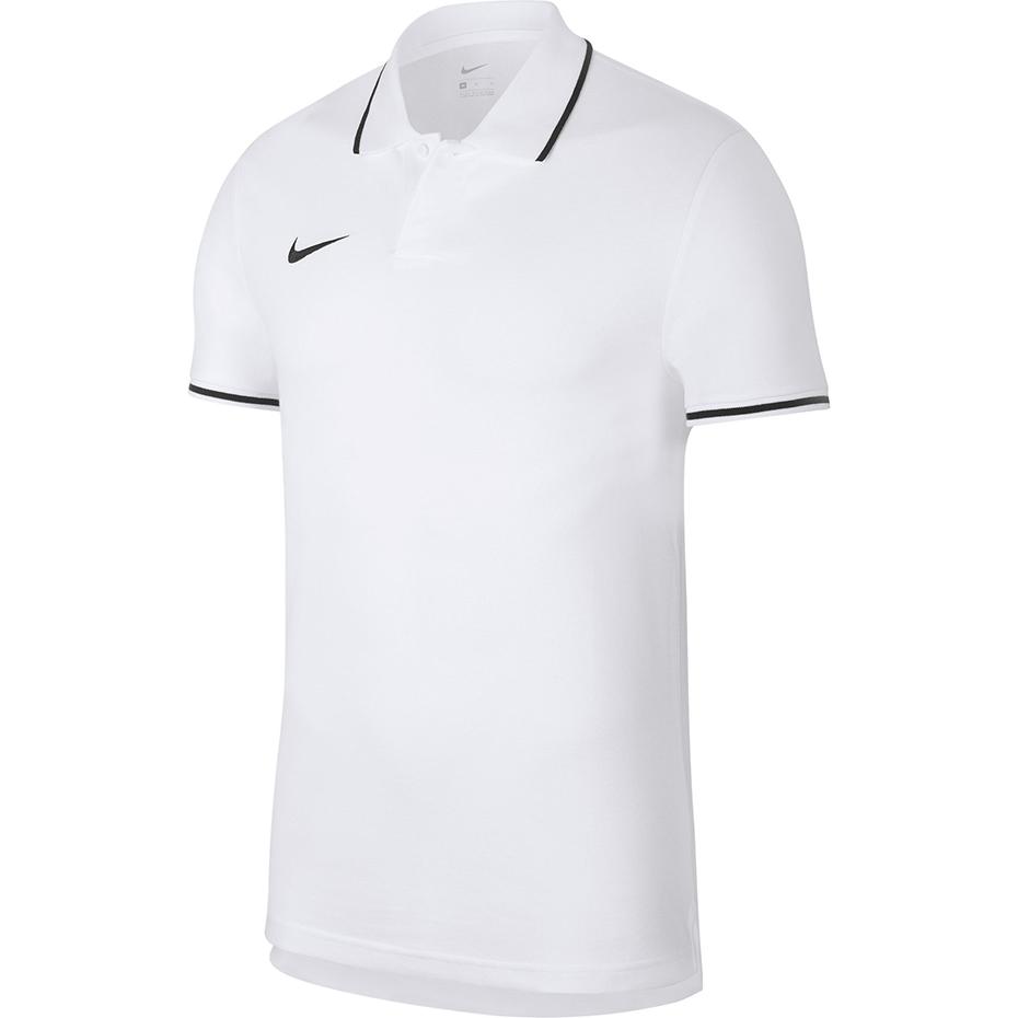 Nike Koszulka męska Polo Team Club 19 SS biała AJ1502 100 K6327 0