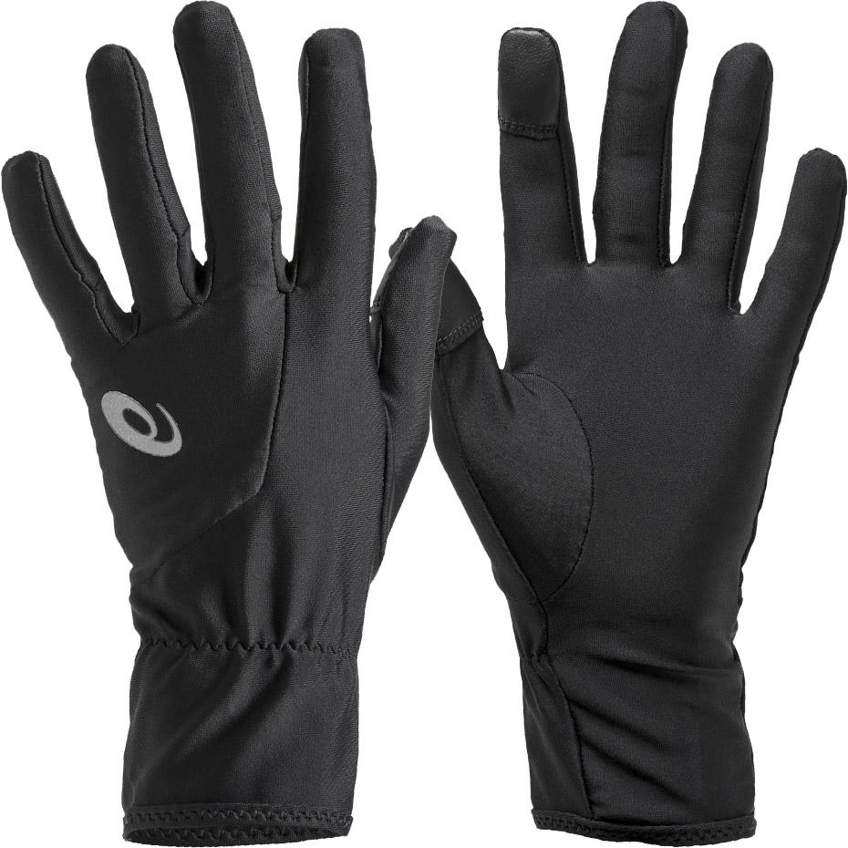 Rękawiczki do biegania Asics Running Gloves czarne 3011A011