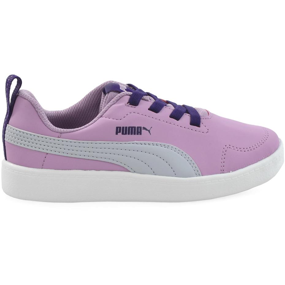Buty dla dzieci Puma Courtflex PS różowe 362650 08 Cena