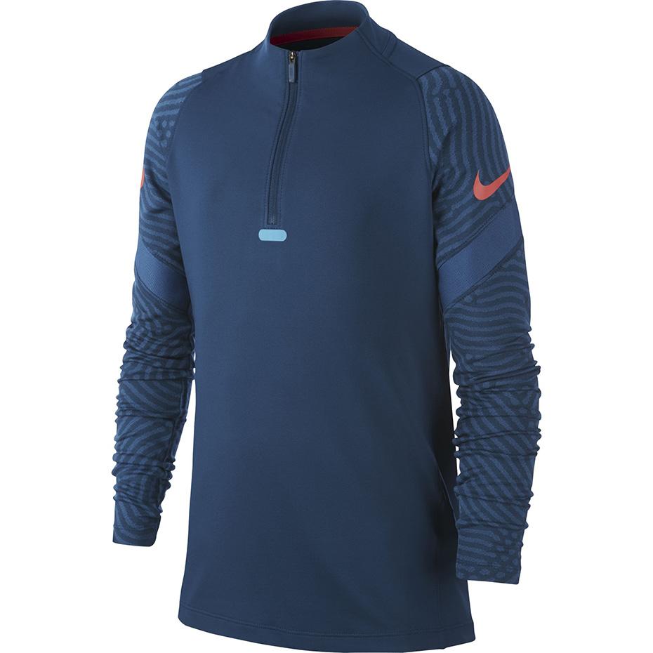 Bluza dla dzieci Nike Dry Strike Dril Top NG niebieska BV9459 432