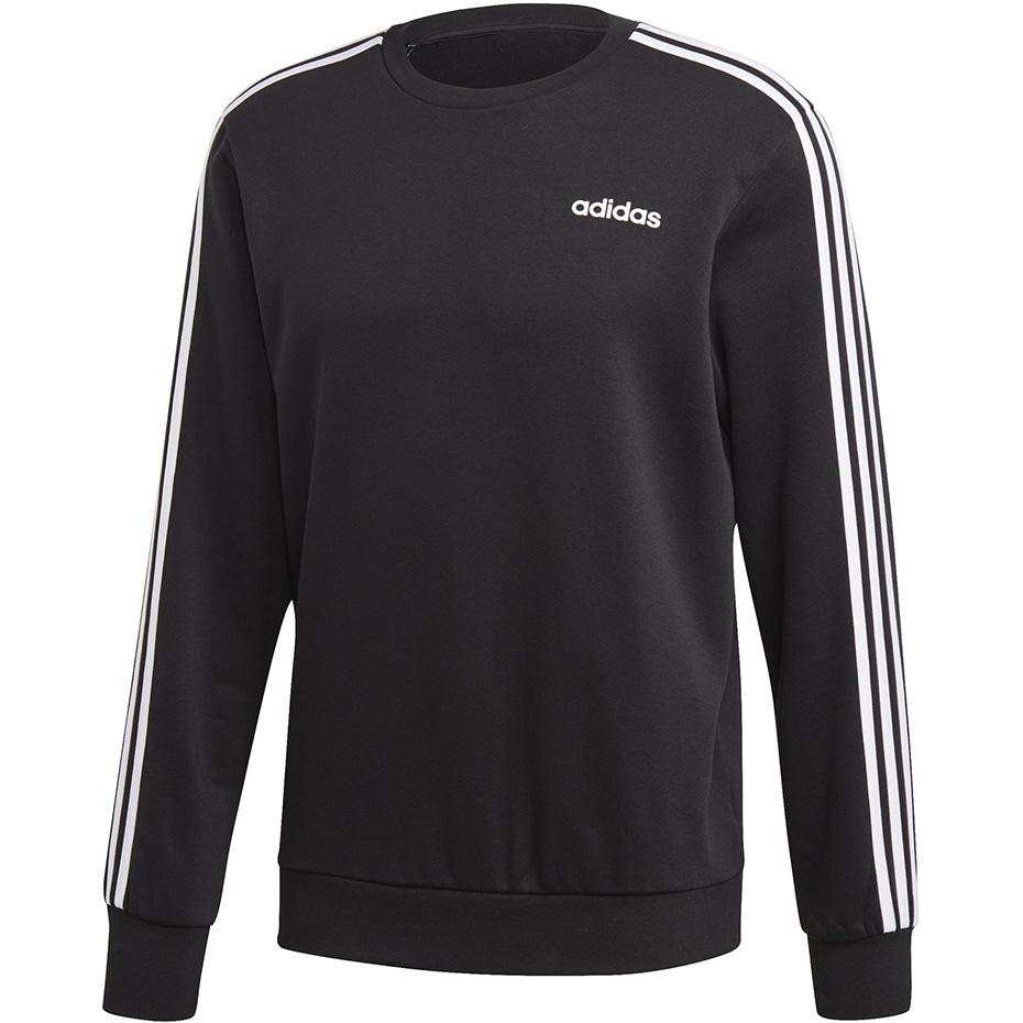 Bluza damska Essentials Linear Crewneck Sweatshirt Adidas (szaro granatowa)
