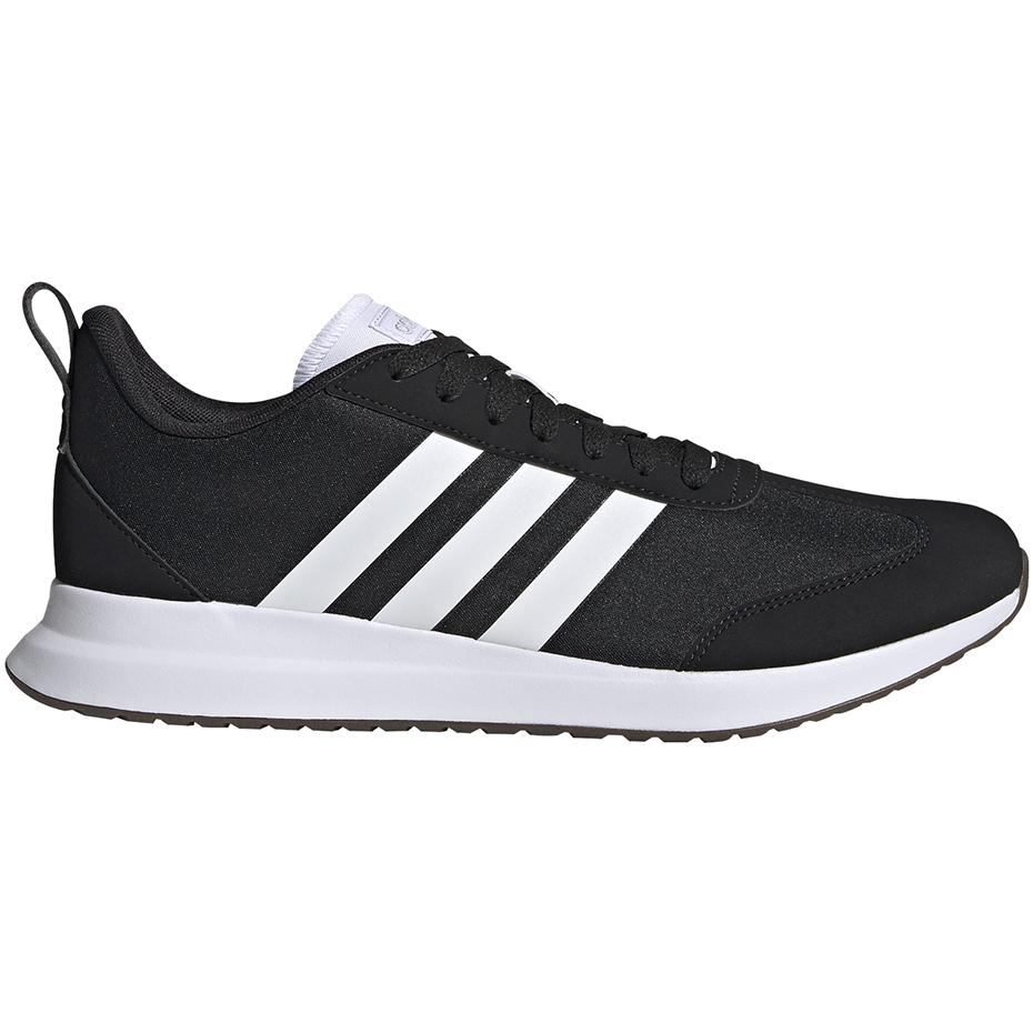 adidas buty czarno białe z niebieskim