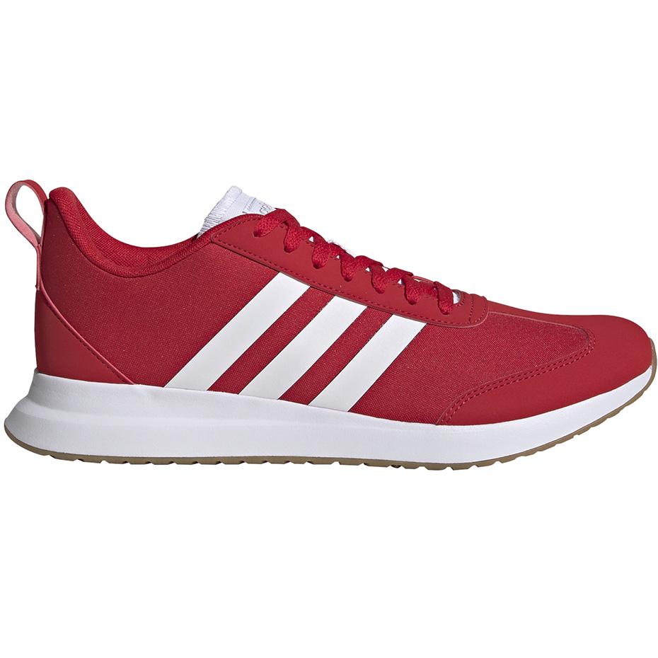 Buty męskie adidas Run60S czerwono białe EG8689