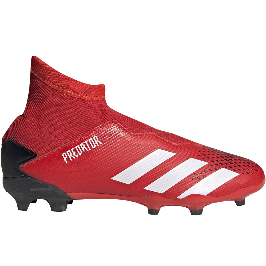 Buty piłkarskie korki Predator 18.3 FG Adidas (białe) Bytów