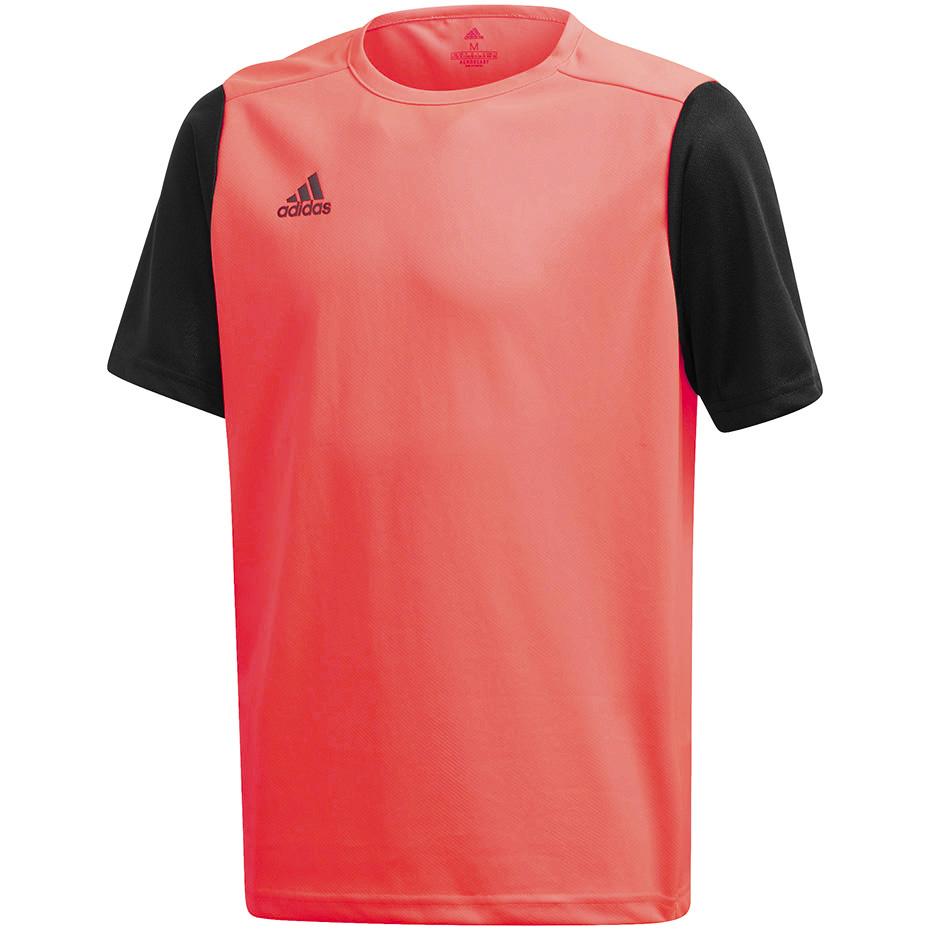 Koszulka męska adidas Estro 19 Jersey czerwono czarna FR7118