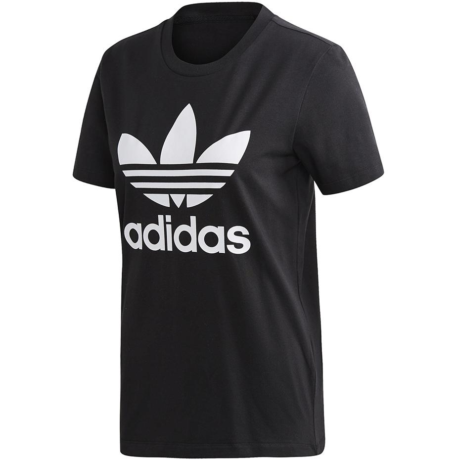 Koszulka damska adidas Trefoil Tee W czarna FM3311