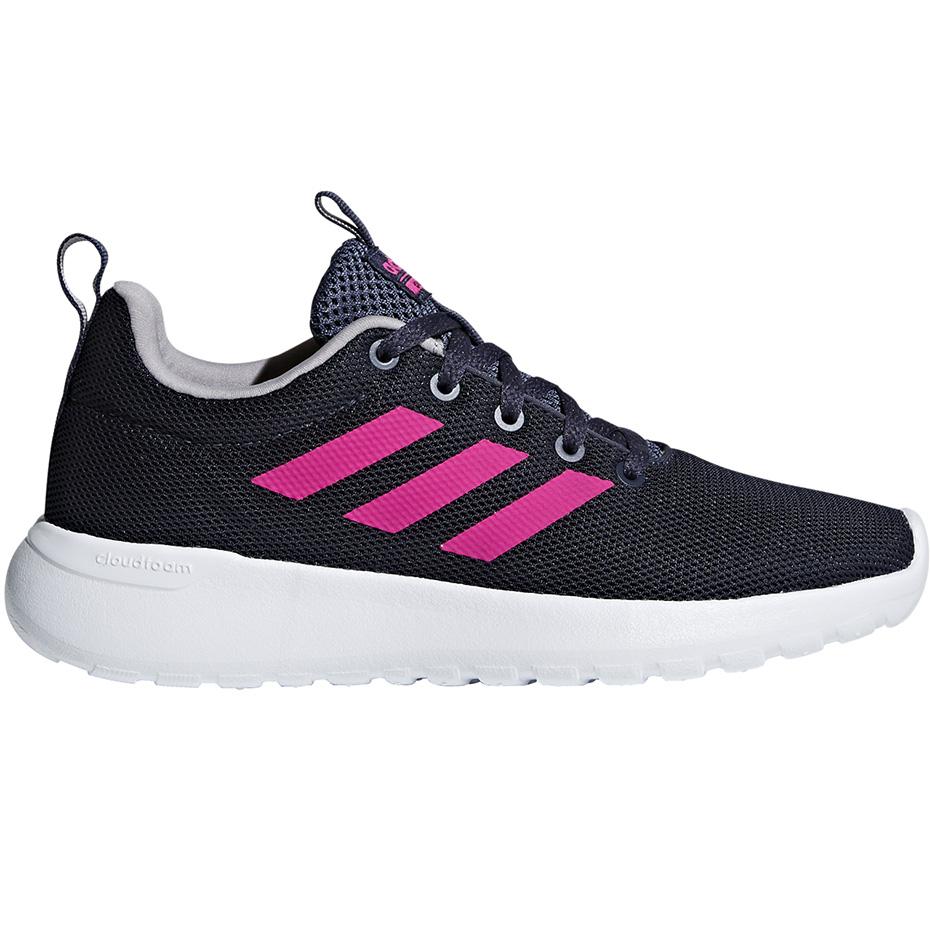 Buty dla dzieci adidas Lite Racer CLN K granatowo różowe BB7045