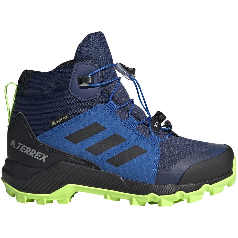 Buty dla dzieci adidas Terrex GTX K granatowo niebieskie