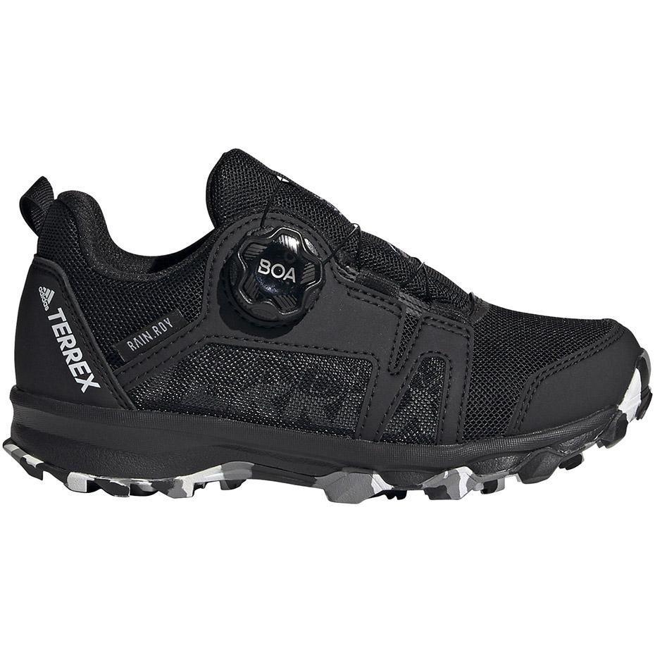 Buty dla dzieci adidas Terrex Agravic Boa K czarne EH2685