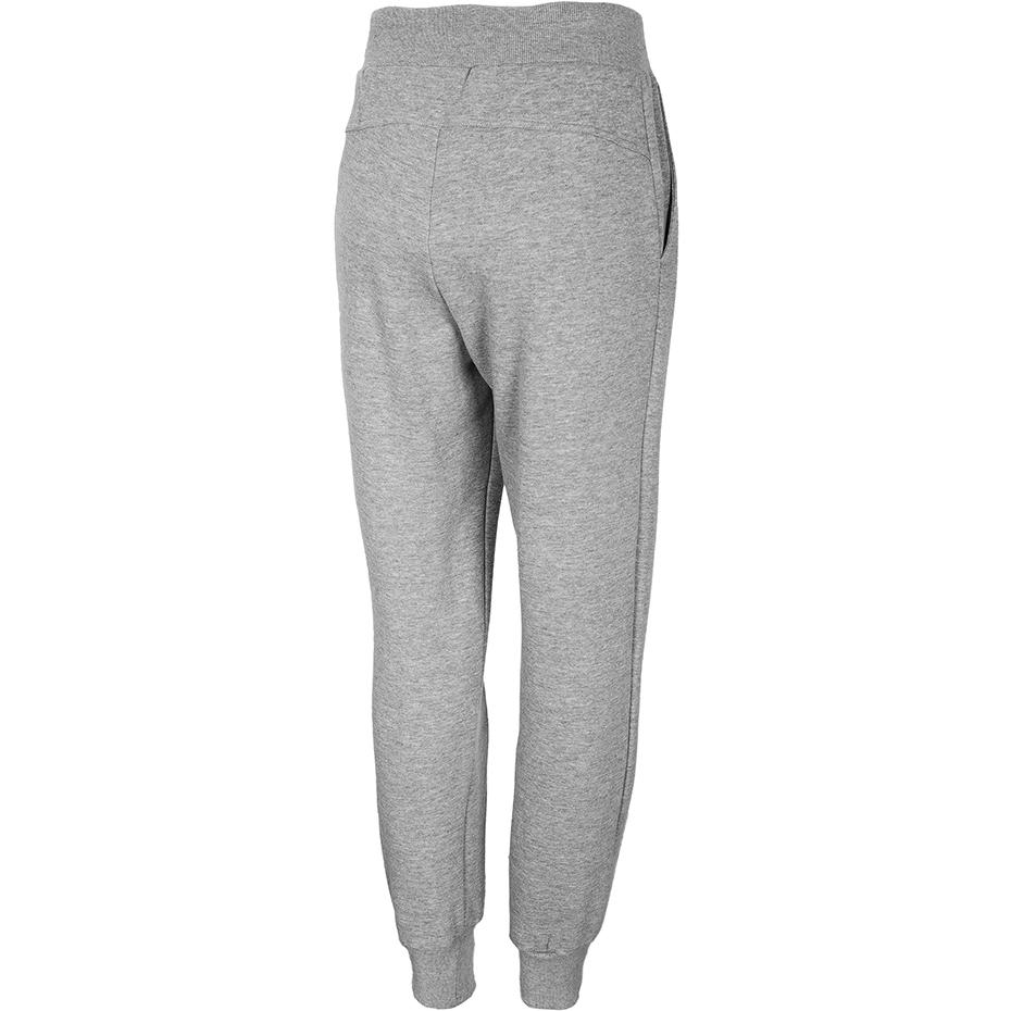 Spodnie damskie 4F chłodny jasny szary melanż NOSH4 SPDD001
