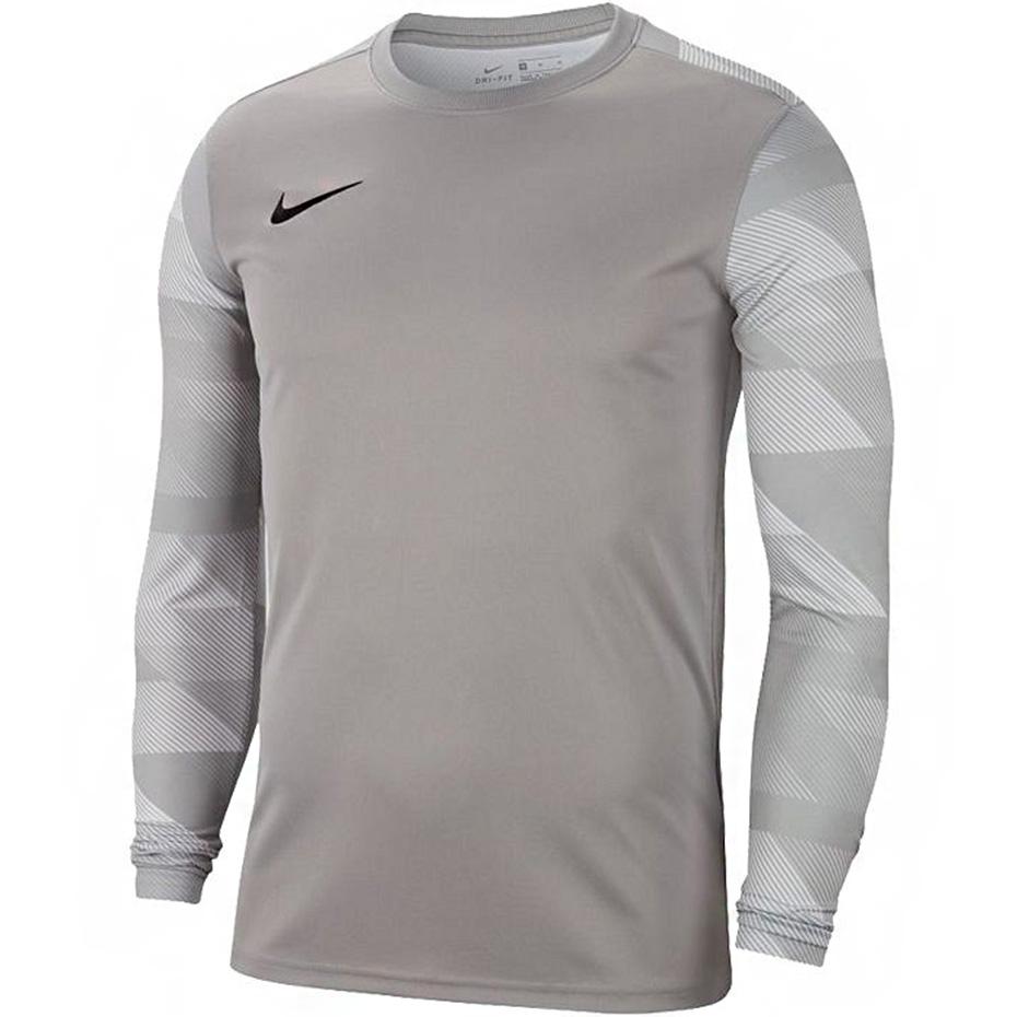 Bluza bramkarska dla dzieci Nike Dry Park IV JSY LS GK JUNIOR szara CJ6072 052