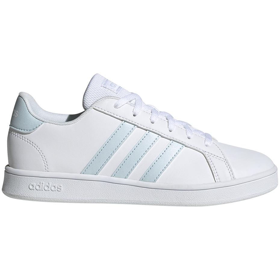 adidas buty Grand Court białeciemnozielone Sklep piłkarski