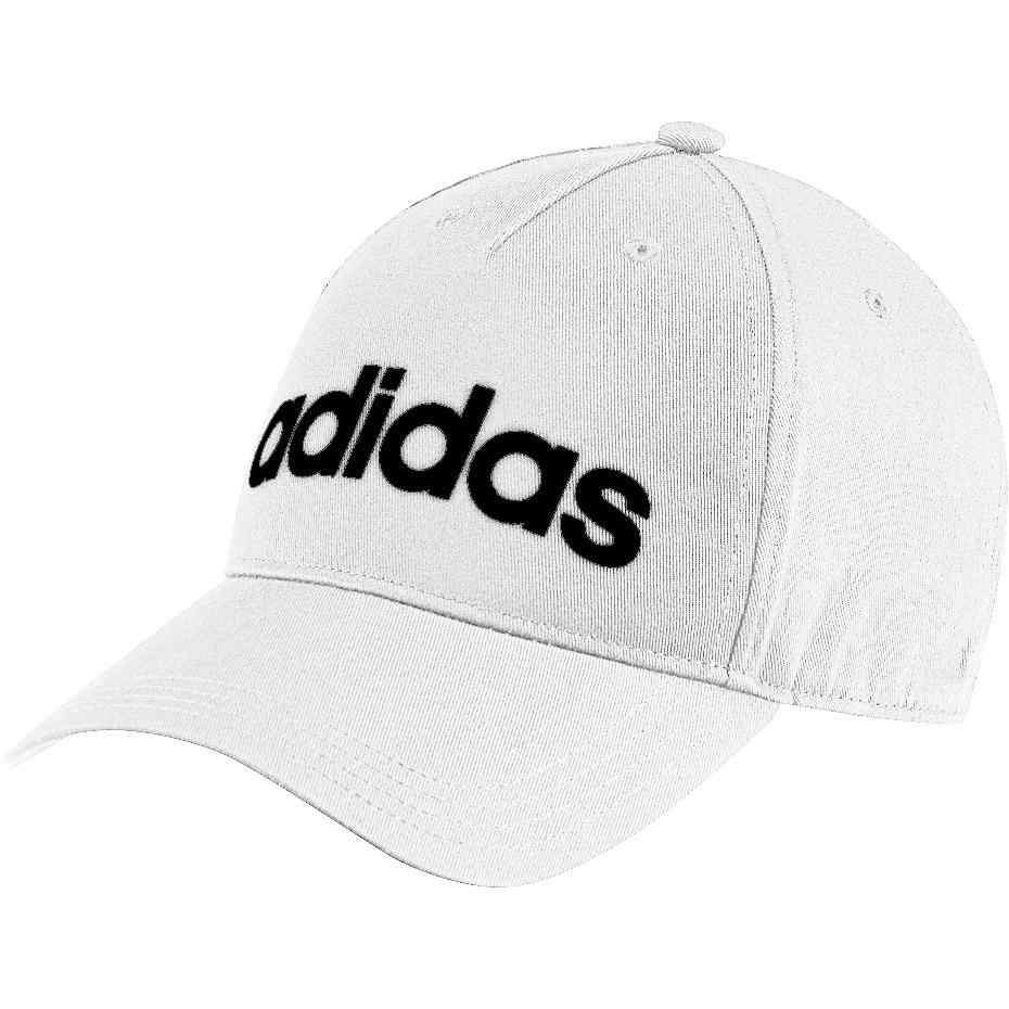 Czapka z daszkiem damska adidas Daily Cap OSFW biało czarna