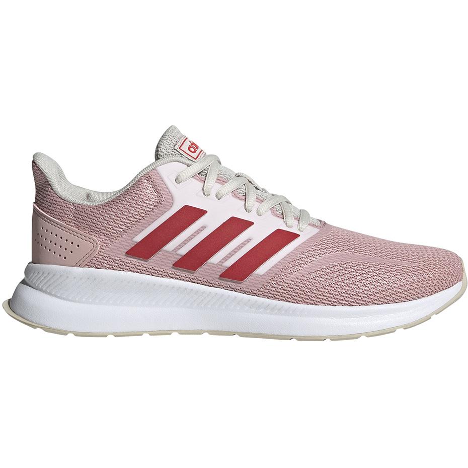 Buty damskie adidas Runfalcon czerwono różowe EG8630 Cena