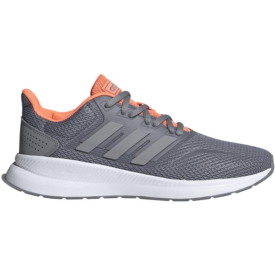 buty damskie adidas runfalcon pomarańczowe