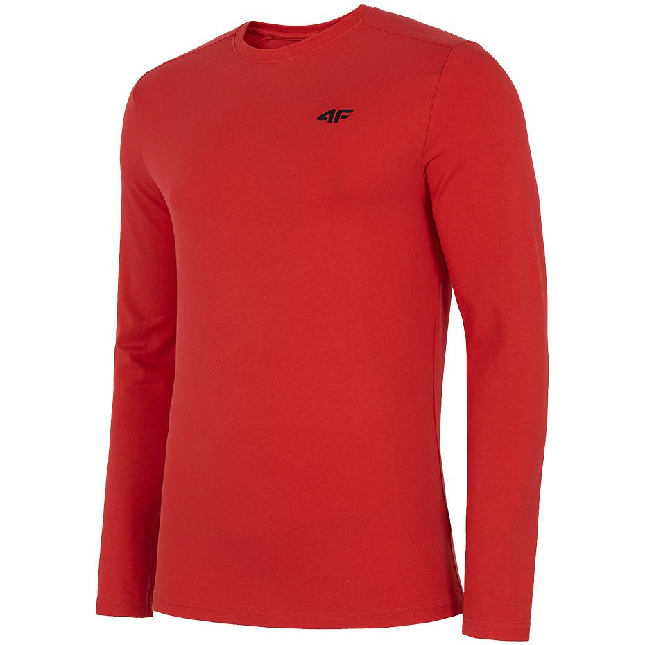 Koszulka męska 4F czerwona NOSH4 TSML001 62S