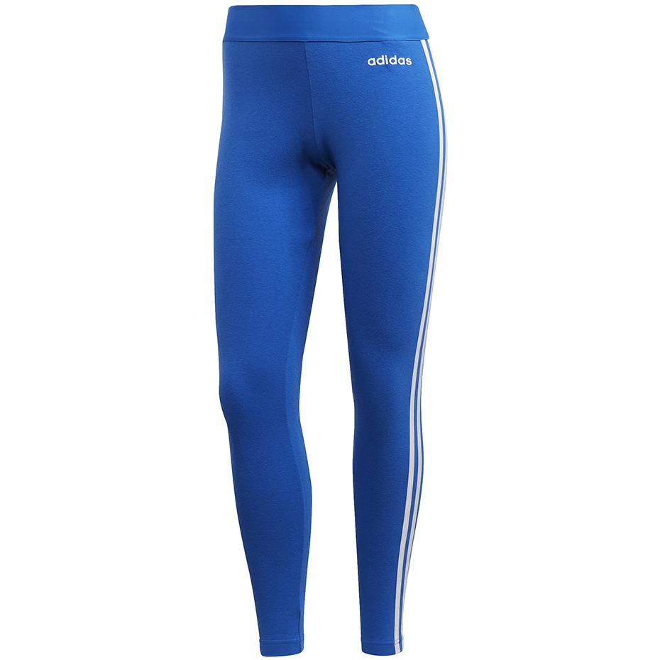 Legginsy damskie adidas D2M RR Solid L ciemny niebieski