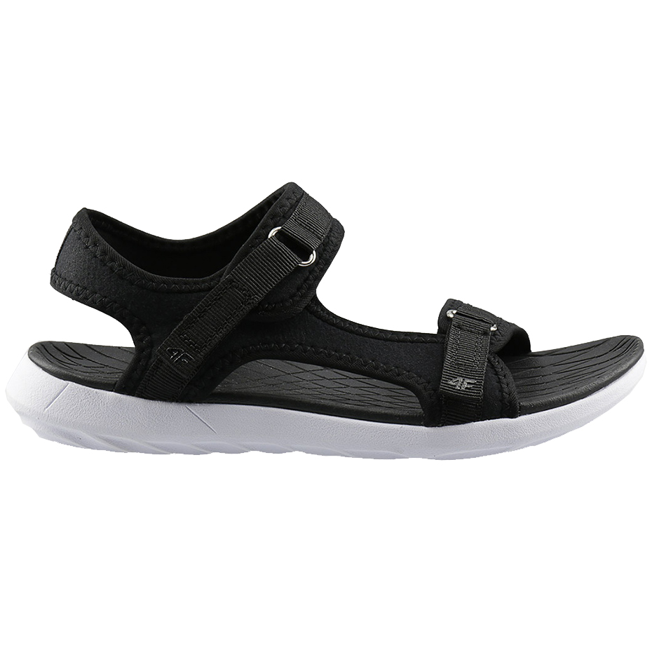 Sandały damskie 4F czarne H4L20 SAD001 21S
