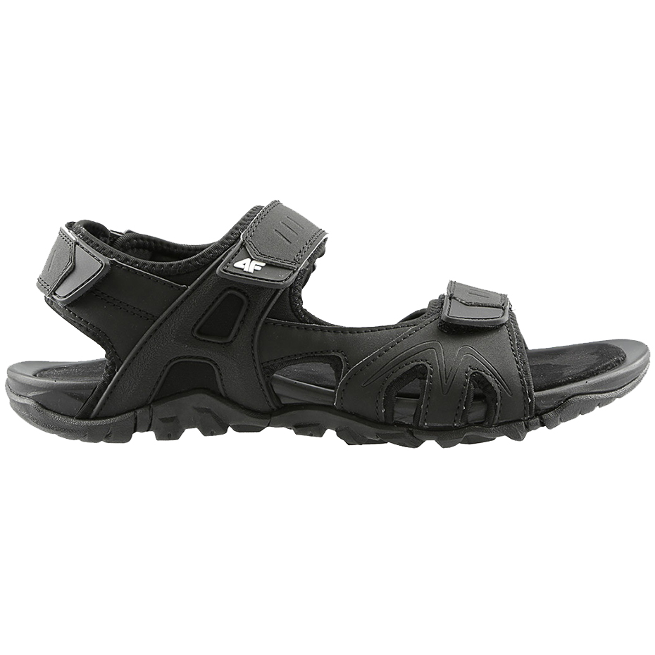 Sandały męskie 4F czarne H4L20 SAM002 20S