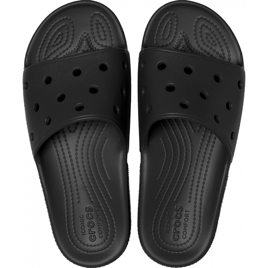 Crocs klapki Classic Slide czarne 206121 001