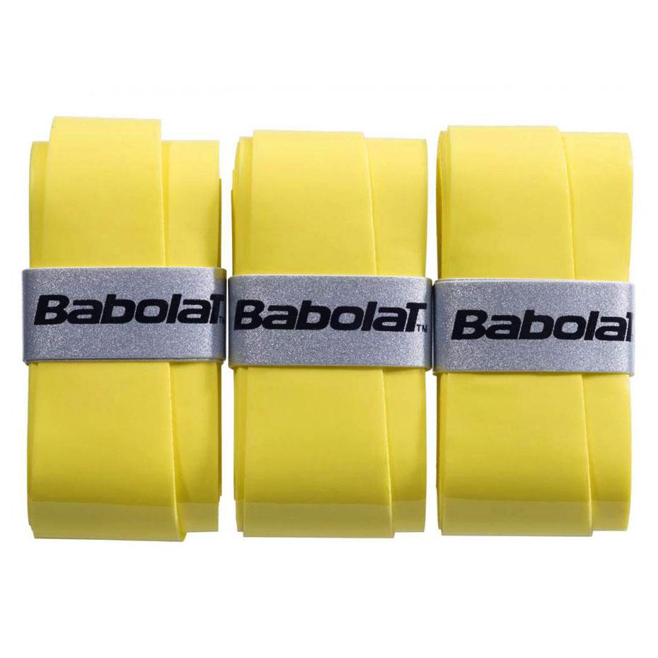 Owijka Babolat Pro Tour X3 żółte 3 szt. 138759