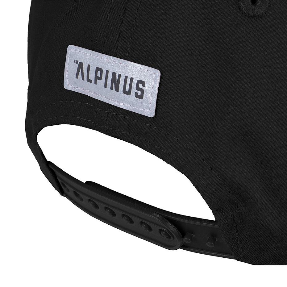 Czapka z daszkiem Alpinus Rwenzori czarna ALP20BSC0002